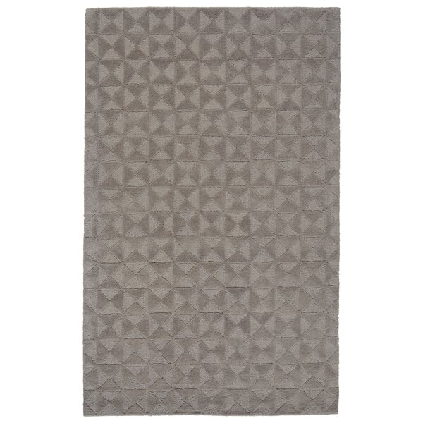 Mcnab Hand-Tufted Wool Cool/Gray Area Rug by Williston Forge