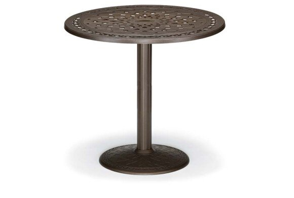 Cast 48 Round Bar Table by Telescope Casual