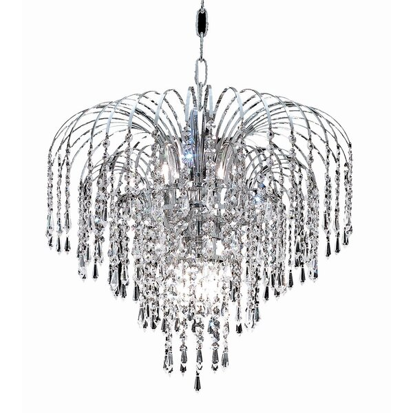 Westrem 6 - Light Unique/Statement Tiered Chandelier by House of Hampton House of Hampton
