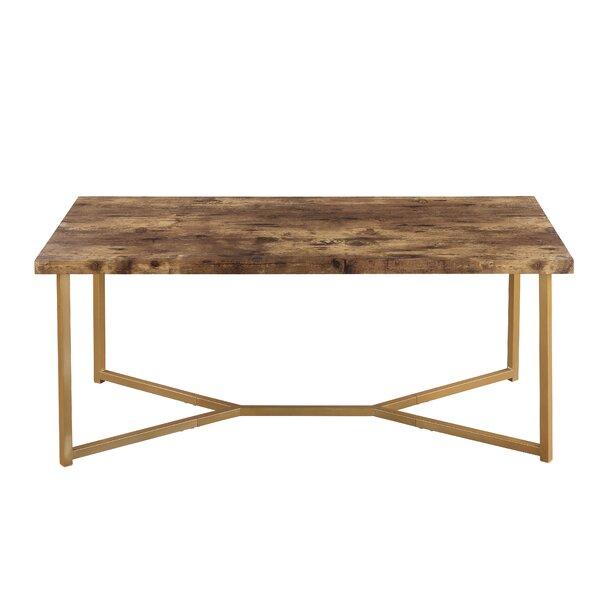 Lamendola Cross Legs Coffee Table By Brayden Studio