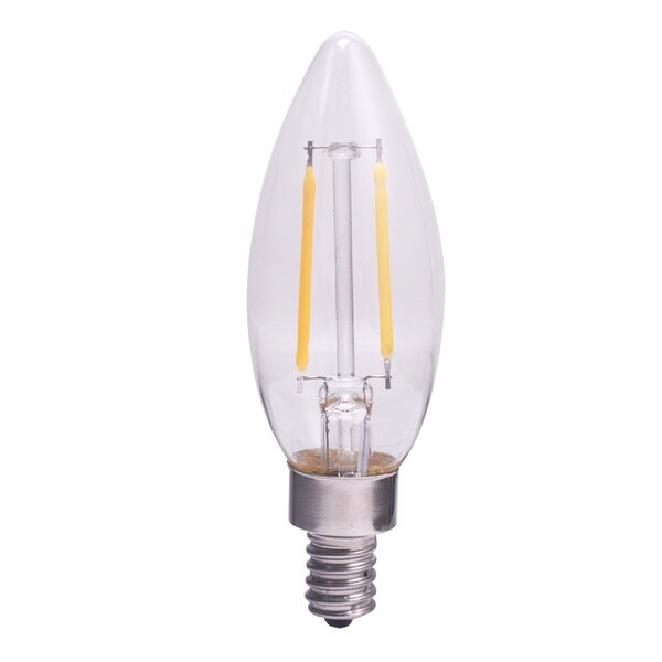 3W E12 LED Vintage Filament Light Bulb by Lutec