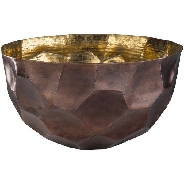 Round Metal Decorative Bowl by Mercer41