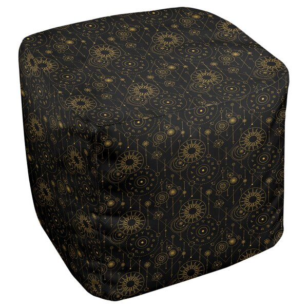 Leffel Astrology Cube Ottoman By Ebern Designs Savings