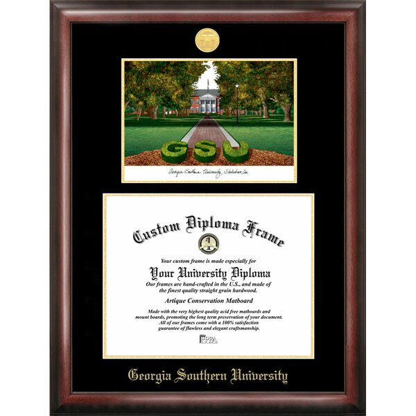 NCAA Georgia Southern Diploma Lithograph Picture Frame by Campus Images