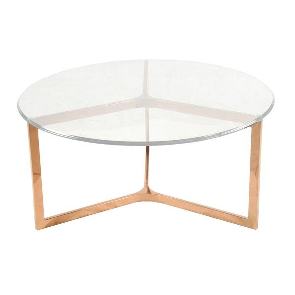 Ziegler Coffee Table by Orren Ellis