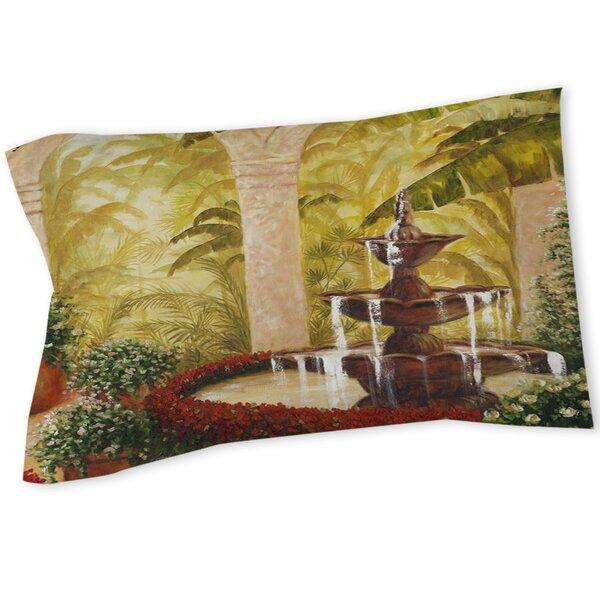 Palm Garden II Sham by Manual Woodworkers & Weavers