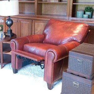 Garret Leather Manual Recliner Elements Fine Home Furnishings