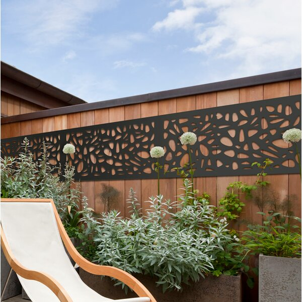2 ft. H x 4 ft. W Pebbles WPC Fence Panel by Modinex