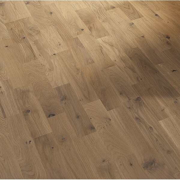 Harmony and Tropical 7-7/8 Engineered Oak Hardwood Flooring in Frost by Kahrs