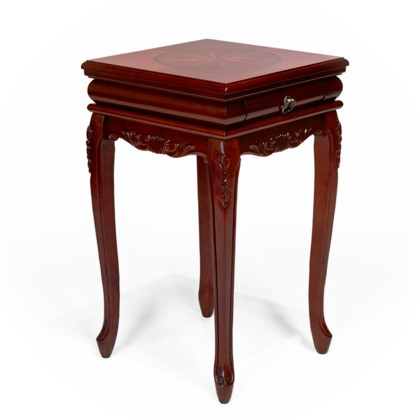 Emrich Shaped Leg End Table by Astoria Grand Astoria Grand