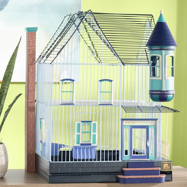 Eleanor Victorian Keet/Tiel Home Bird Cage by Arch