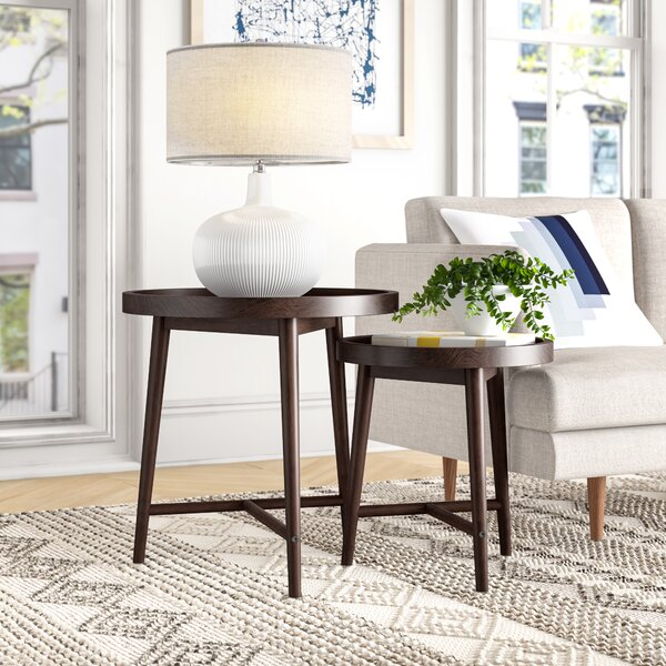 Arthur 2 Piece Nesting Tables By Foundstone