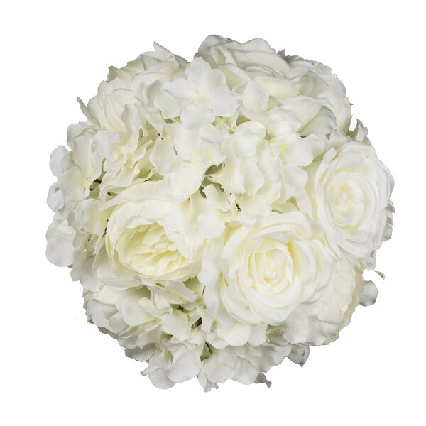 Hydrangea Rose Ball Flower by Ophelia & Co.