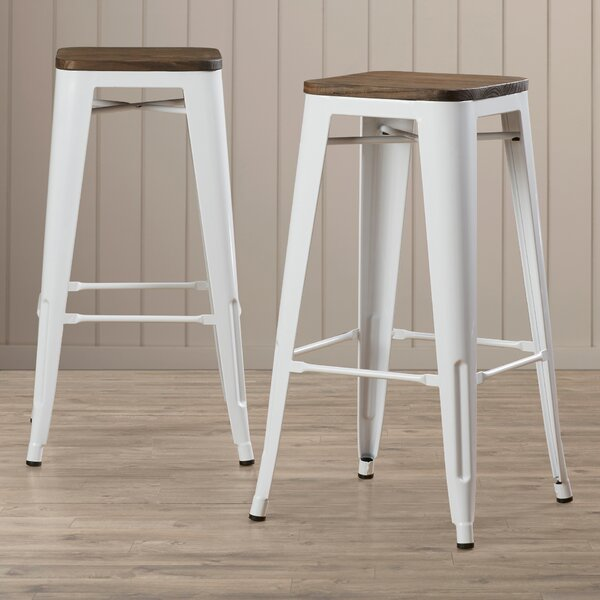 Fortuna 30 Bar Stool (Set of 2) by Trent Austin Design