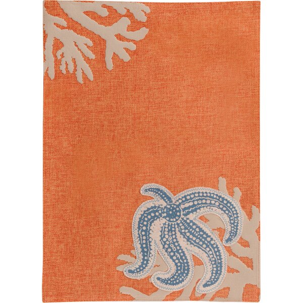 Starfish Cloth Placemat (Set of 4) by Boston International