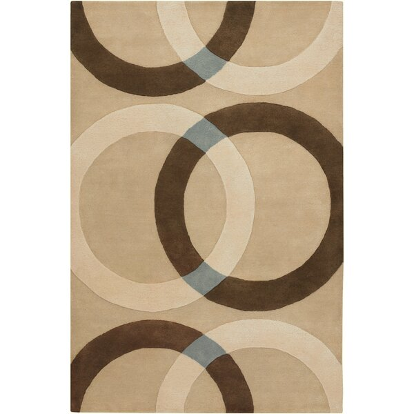 Altamirano Tan Area Rug by Ebern Designs