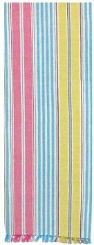 Harlan Striped Table Runner (Set of 2) by Highland Dunes