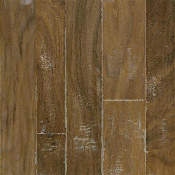 Artesian Random Width Engineered Walnut Hardwood Flooring in Natural by Armstrong Flooring