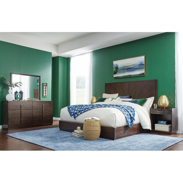 Youenn Low Profile Standard Configurable Bedroom Set by Brayden Studio
