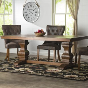 Charmant Parfondeval Extendable Wood Dining Table