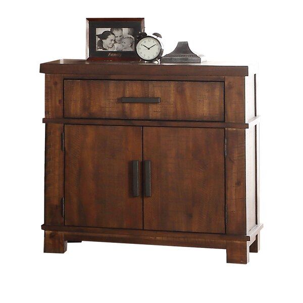 Matias 2 Drawer Nightstand by Millwood Pines