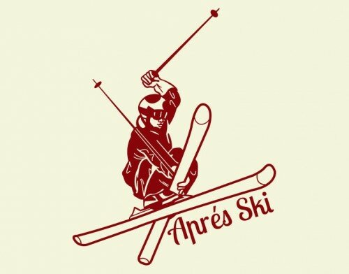 Apres Ski Wall Decal by Style and Apply