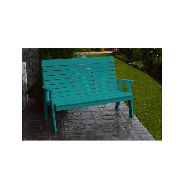 5' Winston Garden Bench by Ebern Designs Ebern Designs