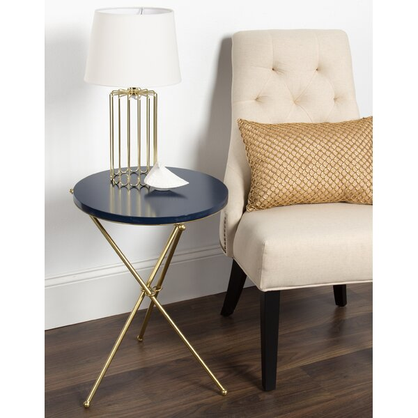 Hemby Tripod End Table by Mercer41