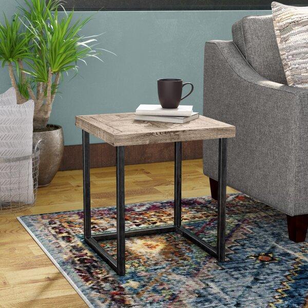 Adalheid Parquet End Table by Trent Austin Design Trent Austin Design