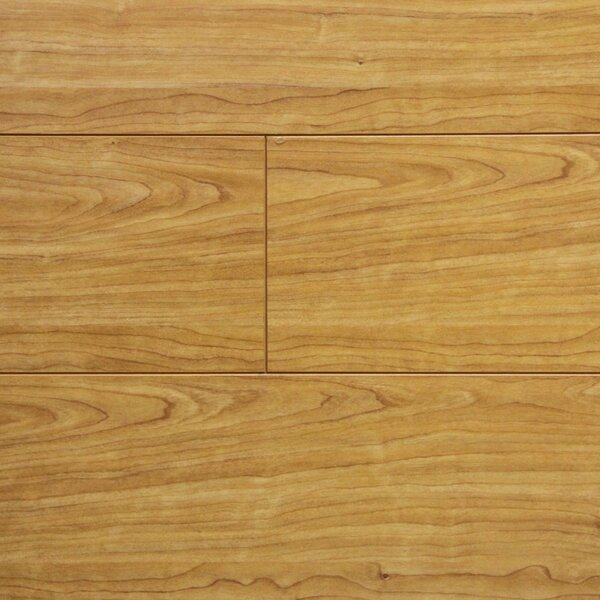 7 x 48 x 12.3mm Laminate Flooring in Natural Cherry (Set of 22) by Serradon