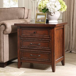 Best Price Brandon End Table with Storage ByHarbor House