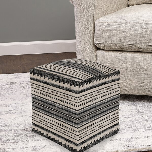 Commer Triangle Stripe Pouf By Union Rustic 2019 Coupon