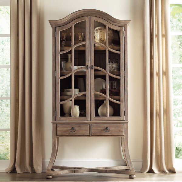 Corsica Lighted Display Stand by Hooker Furniture