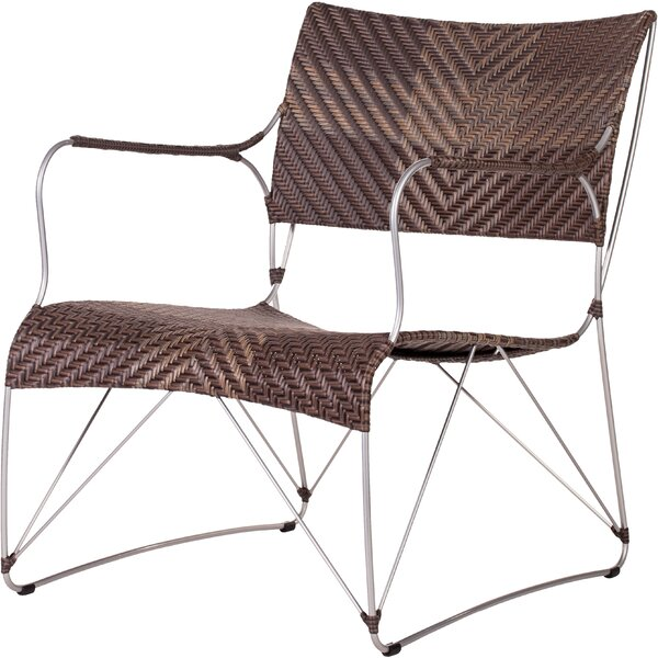 Zen Outdoor Patio Chair by Bungalow Rose