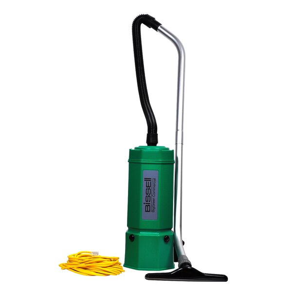 Lightweight Commercial Backpack Vacuum Cleaner by Bissell BigGreen Commercial