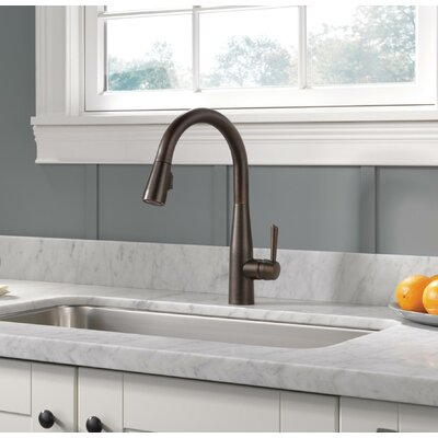 Delta Kitchen Faucet Single Handle Bronze Faucets