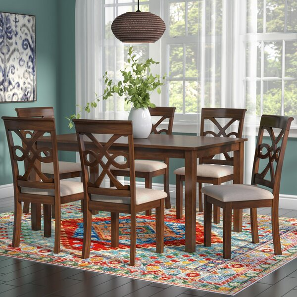 Duron 7 Piece Dining Set by World Menagerie
