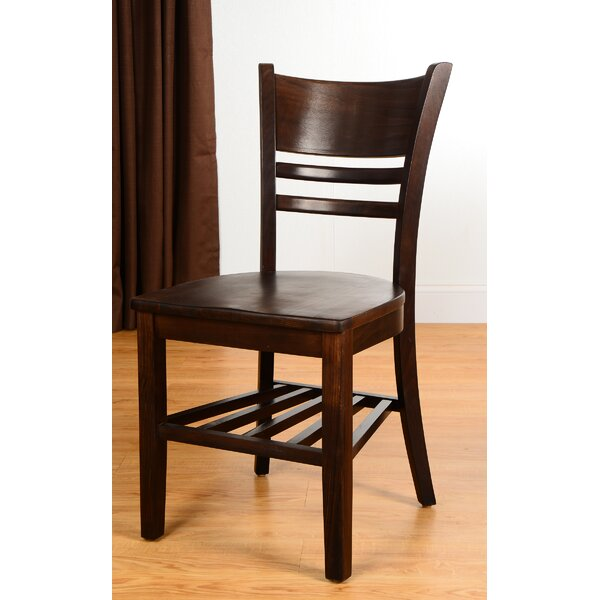 Collage Solid Wood Dining Chair (Set of 2) by Benkel Seating