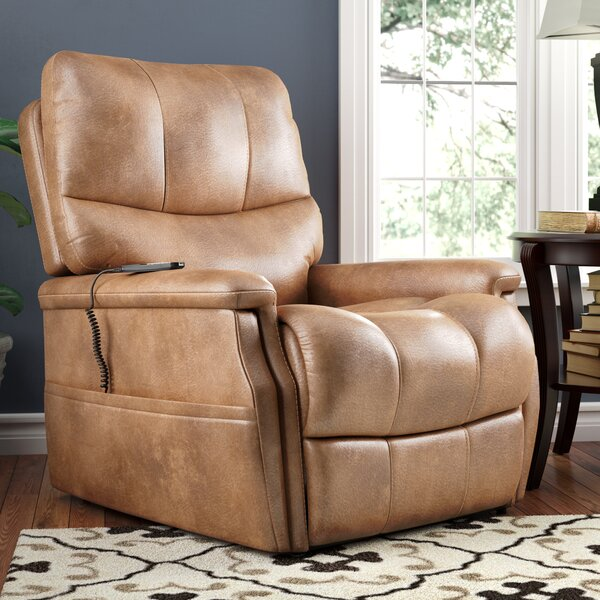 Flanigan Power Lift Assist Recliner by Red Barrel