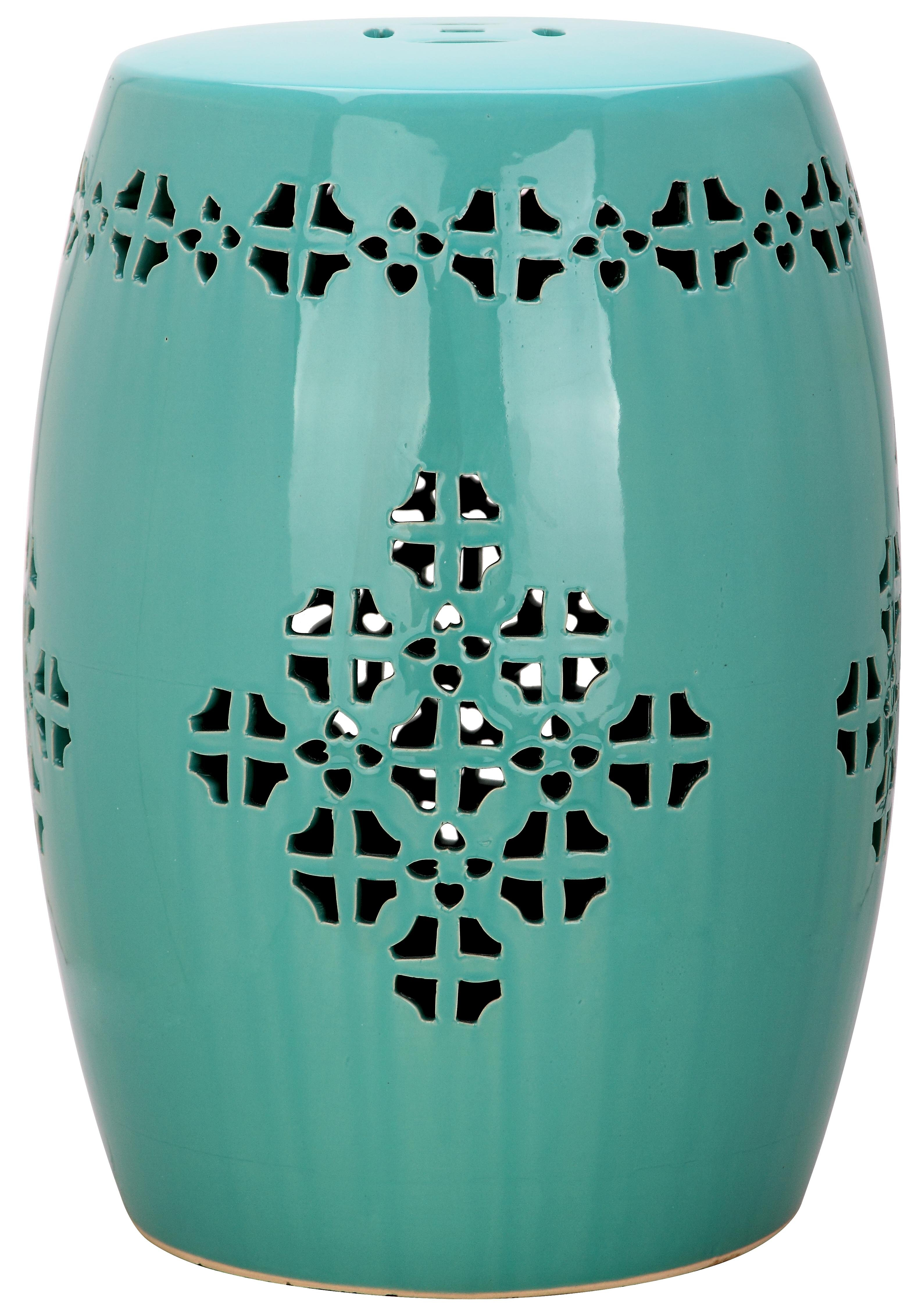 Lorelei Ceramic Garden Stool Reviews Allmodern