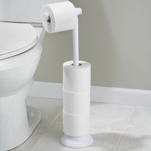 kent free standing toilet paper holder