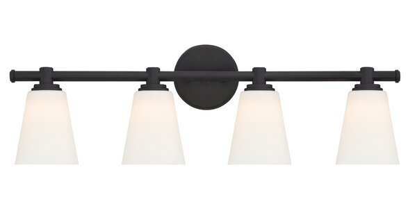 Parker 4-Light Vanity Light by Designers Fountain