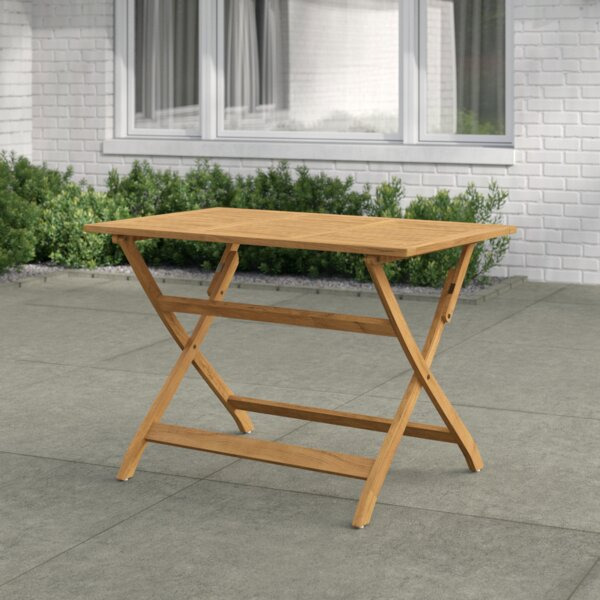 Enola Folding Wooden Dining Table by Zipcode Design