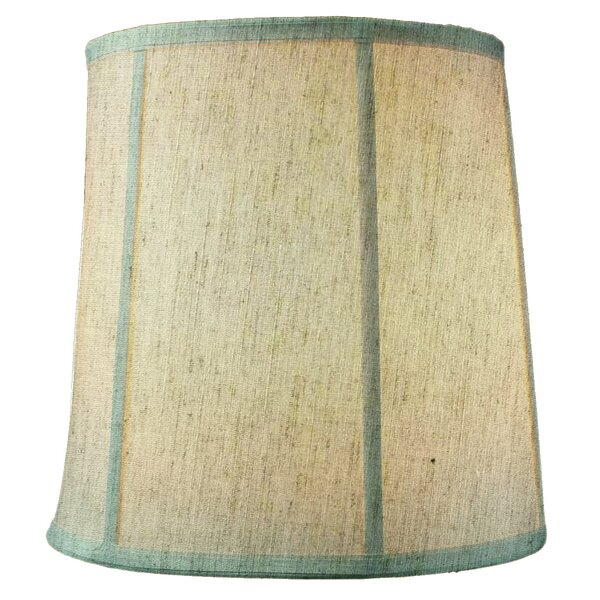 Textured 10 Linen Drum Lamp Shade by Highland Dunes