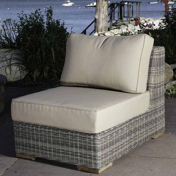 Corsica Armless Chair with Cushions by Madbury Road