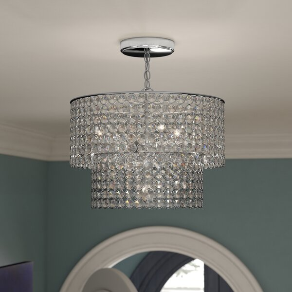 Saltford 5-Light Unique Tiered Chandelier by House of Hampton House of Hampton