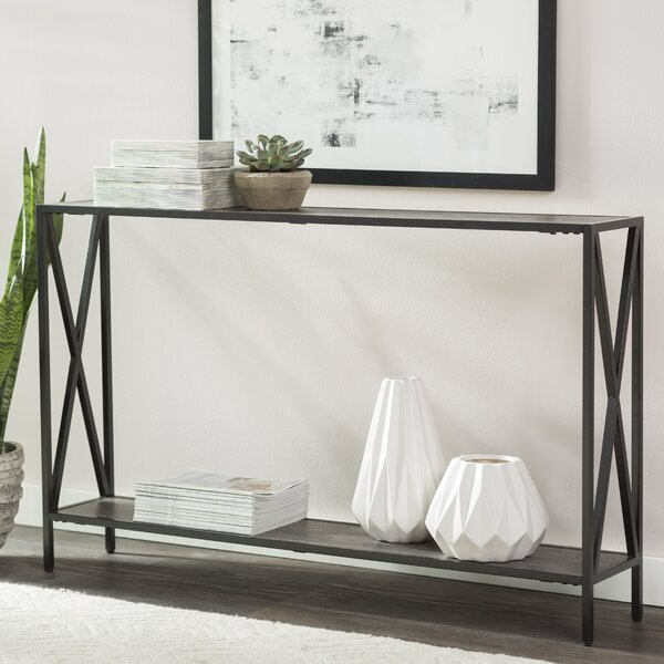 Abbottsmoor Metal Frame Console Table by Andover M