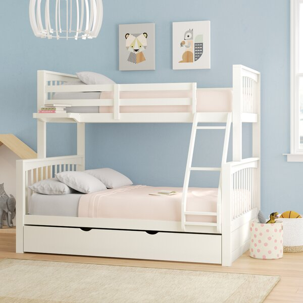 Granville Twin Over Full Bunk Bed with Trundle by Viv + Rae