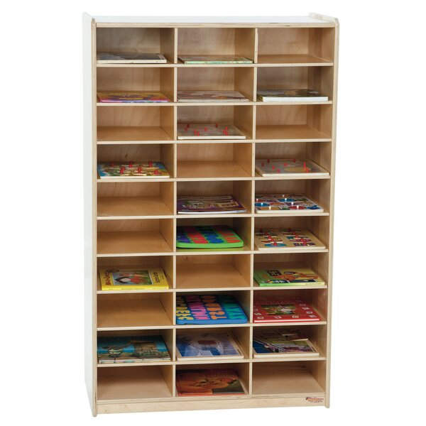 30 Compartment Cubby by Wood Designs