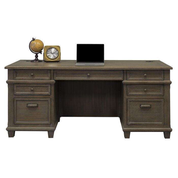 Larissa Solid Wood Executive Desk